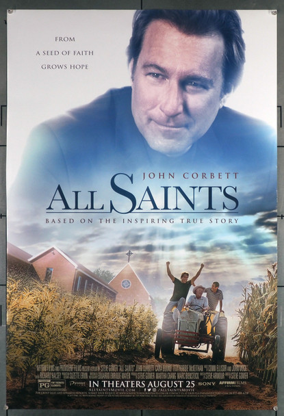 ALL SAINTS (2017 ) 29511  Movie Poster  John Corbett   Barry Corbin   David Keith Original U.S. One-Sheet Poster (27x40) Rolled  Very Fine Condition
