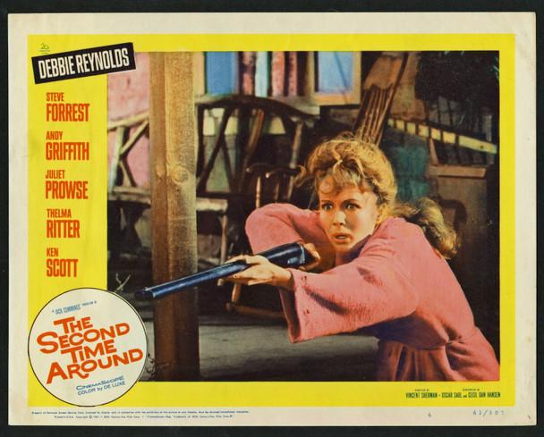 SECOND TIME AROUND, THE (1961) 29489  Debbie Reynolds  Fine Condition Original U.S. Scene Lobby Card (11x14) Fine Plus Condition