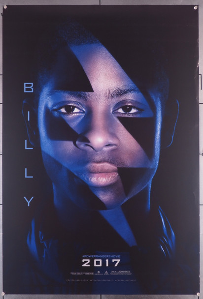 POWER RANGERS (2017) 29469  Movie Poster  Special Character Poster 27x40  RJ Cyler as Billy Original U.S. Teaser One-Sheet  (27x40)  Rolled  Fine Plus Condition