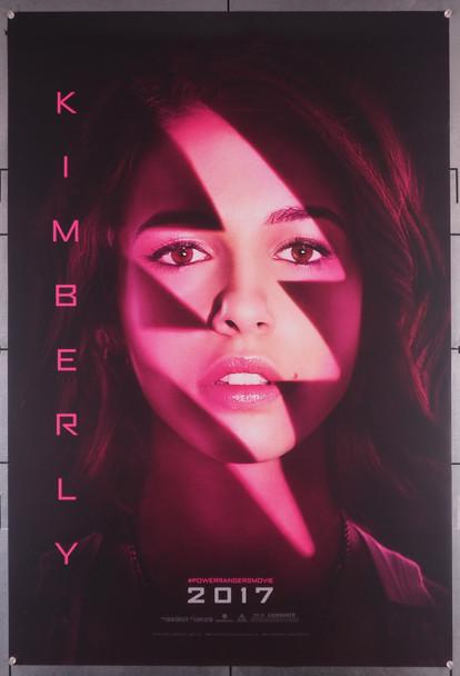 POWER RANGERS (2017) 29471  Movie Poster   Character Advance One-Sheet  Naomi Scott as The Red Ranger Original U.S. Advance One-Sheet Poster (27x40) Rolled  Naomi Scott as Kimberly