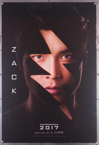 POWER RANGERS (2017) 29473  Movie Poster  Character Advance One-Sheet  27x40  Ludi Lin as Zack, The Black Ranger Original U.S. One-Sheet Poster (27x40)  Rolled  Double-Side  Fine Plus Condition  Ludi Lin as Zack, The Black Ranger