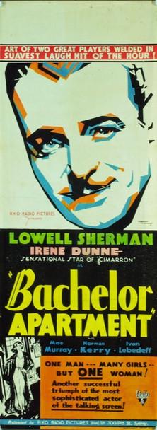 BACHELOR APARTMENT (1931) T21680  Australian Movie Poster  15x40  Lowell Sherman   Irene Dunne Original RKO Australian Daybill Poster (15x40). Very fine condition.  Folded