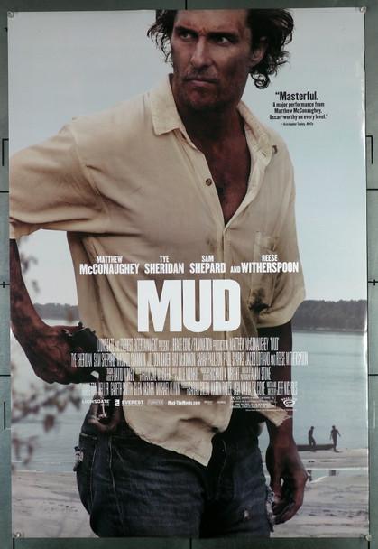 MUD (2012) 29514  Movie Poster (27x40)  Double-Sided  Fine Plus Condition  Matthew McConaughey Original U.S. One-Sheet Poster (27x40)  Fine Plus Condition  Rolled  Double Sided