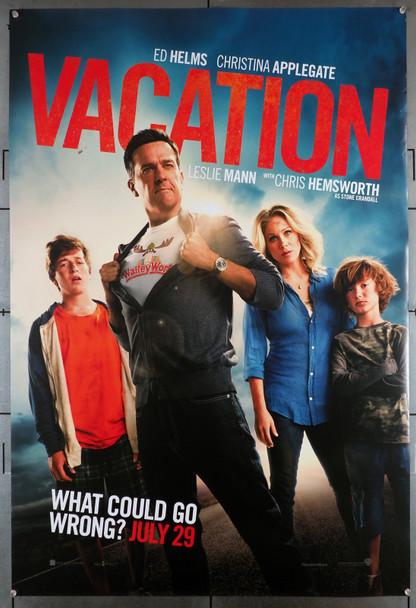 VACATION (2015  ) 29466  Movie Poster  (27x40)  Ed Helms  Christina Applegate  Skyler Gisondo  Steele Stebbins Original U.S. One-Sheet Poster (27x40)  Rolled  Very Fine