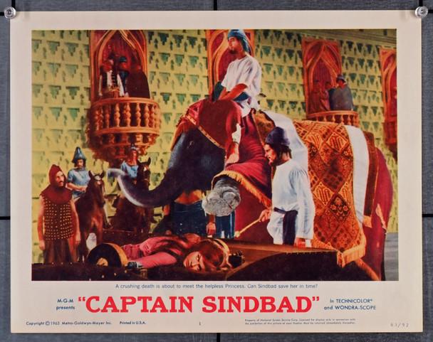 CAPTAIN SINDBAD (1963) 29527  (11x14)  Scene Card   Heidi Bruhl Original U.S. Scene Lobby Card (11x14)  Very Fine Condition