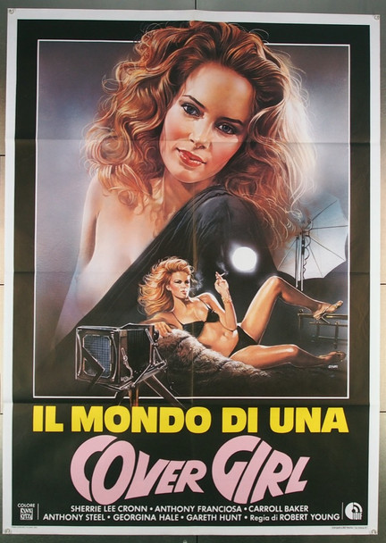 WORLD IS FULL OF MARRIED MEN, THE (1979) 27585 New Line Cinema Original Italian 39x55 Poster  Folded  Very Fine Condition