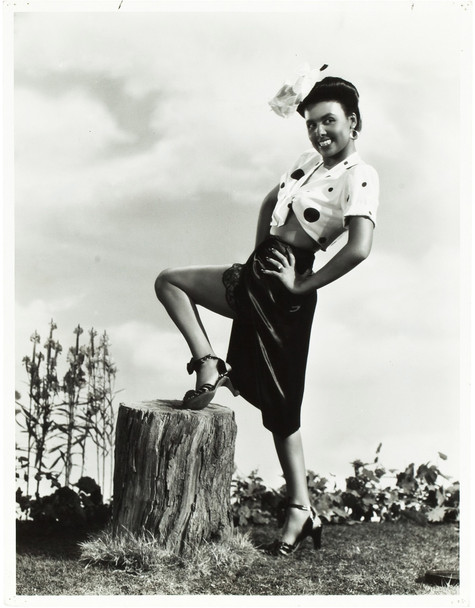 CABIN IN THE SKY (1943) 21376  Gelatin Silver Print of Lena Horne  Dates from 1943  10x13 Original Publicity Photo of LENA HORNE (1943) Gelatin Silver Print. Very Fine Condition.