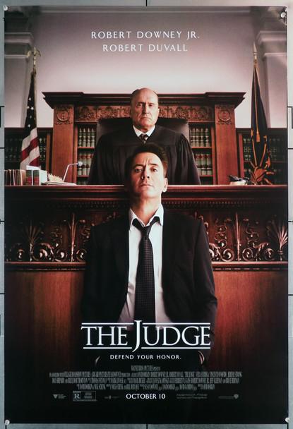 Judge, the (2014) 29636 Movie Poster  (27x40)  Robert Duvall  Robert Downey, Jr. Original U.S. One-Sheet Poster (27x40)  Rolled  Very Fine