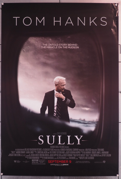 SULLY (2016) 26565  Original U.S. One-Sheet Poster (27x40) Rolled  Double Sided  Very Good Condition Original U.S. One-Sheet Poster (27x40)  Rolled  Very Good Condition  Some small tears