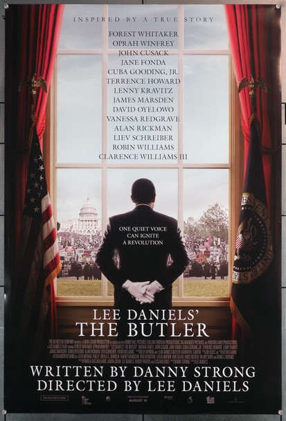 LEE DANIELS' THE BUTLER (2013) 29643  Movie Poster  27x40  Rolled  Forest Whitaker  Lee Daniels Original U.S. One-Sheet Poster (27x40)  Rolled  Very Fine Condition
