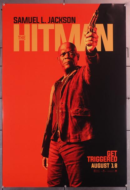 HITMAN'S BODYGUARD, THE (2017) 29650  Movie Poster   Samuel L. Jackson  Teaser Poster Original U.S. One-Sheet Poster (27x40)  Rolled  Very Fine