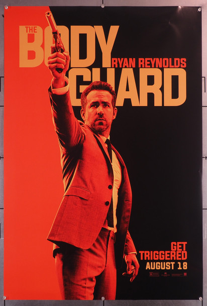 HITMAN'S BODYGUARD, THE (2017) 29649  Teaser Poster   Ryan Reynolds   27x40 Rolled Original U.S. One-Sheet Poster (27x40) Rolled  Very Fine Condition