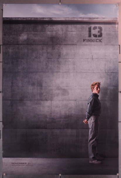 HUNGER GAMES,THE: MOCKINGJAY PART I (2014) 29652  Sam Claflin as Finnick  Rolled  Very Fine Original U.S. One-Sheet Poster (27x40) Rolled  Never Folded