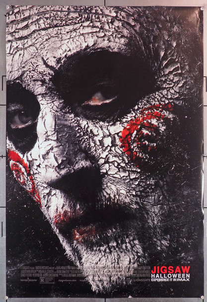 JIGSAW (2017) 29680  Original U.S. One-Sheet Poster  (27x40)  Rolled  Double Sided  Michael and Peter Sperig Original U.S. One-Sheet Poster (27x40)  Rolled  Double-Sided  Fine Plus Condition