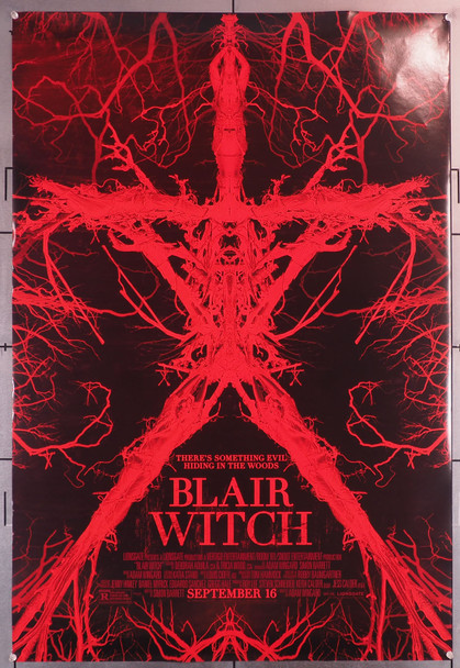 BLAIR WITCH (2016) 29676  Movie Poster (27x40)  Rolled  Double Sided   Adam Wingard Original U.S. One-Sheet Poster (27x40)  Rolled  Double Sided  Fine Plus Condition
