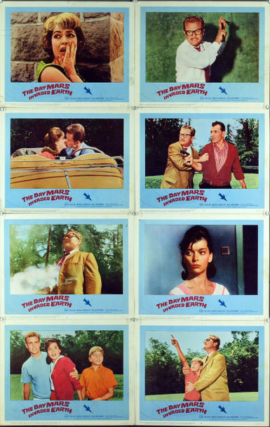DAY MARS INVADED EARTH, THE (1963) 2450 Original Associated Producers Complete Lobby Card Set (11x14). Fine plus condition.