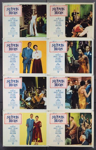 ST. LOUIS BLUES (1958) 2557 Original Paramount Lobby Card Set. Near Mint.