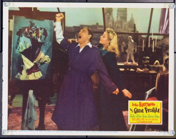 GREAT PROFILE, THE (1940) 2657 Original 20th Century-Fox Scene Lobby Card (11x14). Very Good Plus.