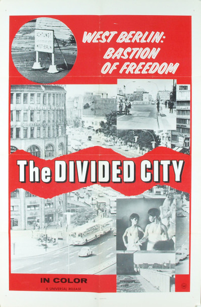 DIVIDED CITY, THE (0) 3362 Original Universal Pictures One Sheet Poster (27x41).  Folded.  Very Fine Condition.