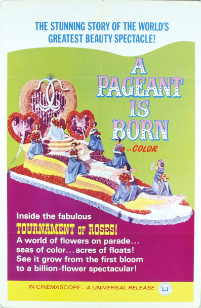 PAGEANT IS BORN, A (1965) 4802 Original Universal Pictures One Sheet Poster (27x41).  Folded.  Very fine condition.