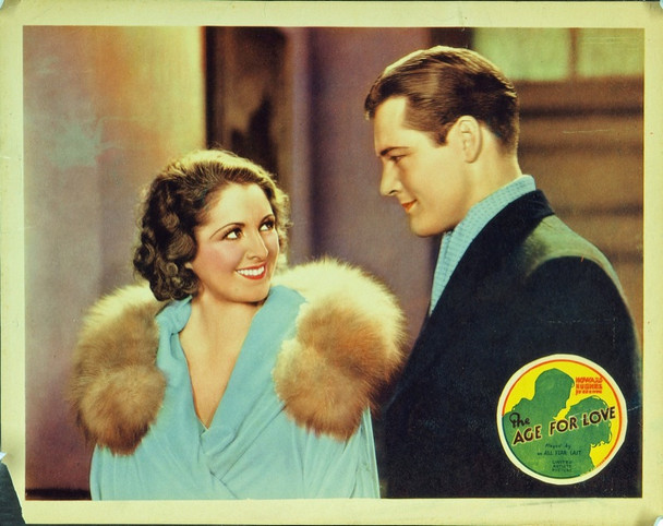AGE FOR LOVE, THE (1931) 5472 Original United Artists Lobby Card (11x14).  Good condition.