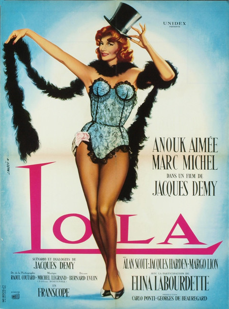 """LOLA (1961) 6294 Original French """"Affiche"""" Poster (24x32).  Near mint condition."""