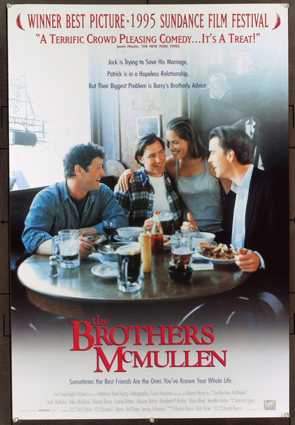 BROTHERS MCMULLEN, THE (1995) 6612 Original Fox Searchlight Pictures One Sheet Poster (27x41).  Rolled.  Near Mint Condition.