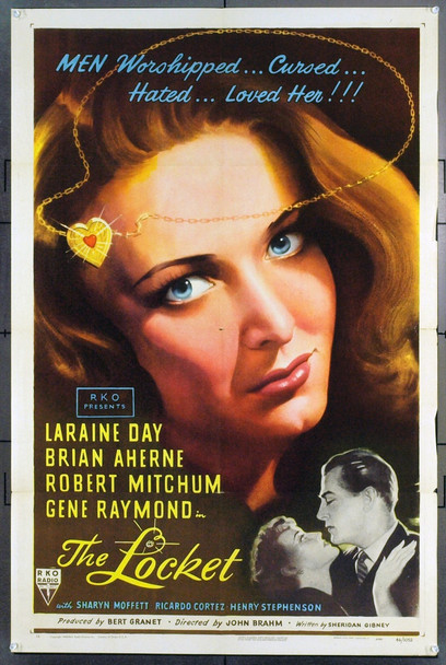 LOCKET, THE (1946) 7567 Original RKO One Sheet Poster (27x41). Folded. Very Fine Plus.
