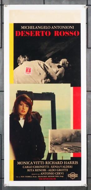 DESERTO ROSSO, IL (1964) 7781 Original Rizzoli Film Italian Locandina (11x27).  Linen Backed  Fine Plus Condition