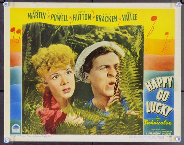 HAPPY GO LUCKY (1942) 9410 Original Paramount Pictures Scene Lobby Card (11x14). Fine Plus.