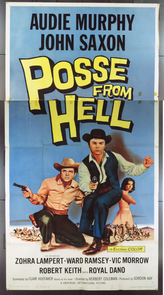 POSSE FROM HELL (1961) 10414 POSSE FROM HELL U.S. Three Sheet Poster. 41x81.