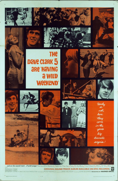 CATCH US IF YOU CAN (1965) 11121 Original Warner Brothers One Sheet Poster (27x41). Folded. Very Fine Condition.