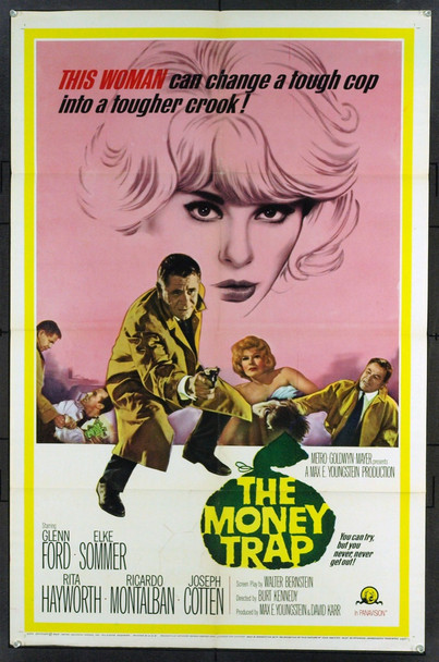 MONEY TRAP, THE (1965) 11398 Original MGM One Sheet Poster (27x41).   Folded.   Very Fine.