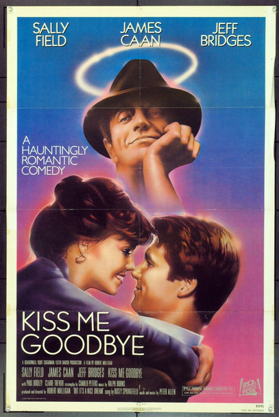 KISS ME GOODBYE (1982) 11943 Original 20th Century-Fox One Sheet Poster (27x41).  Folded.  Very Fine.