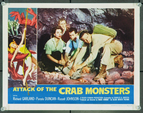 ATTACK OF THE CRAB MONSTERS (1957) 12764 Original Allied Artists Scene Lobby Card (11x14). Fine Condition.
