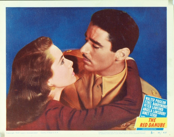 RED DANUBE (1949) 15007 Original MGM Scene Lobby Card (11x14). Very fine condtion.