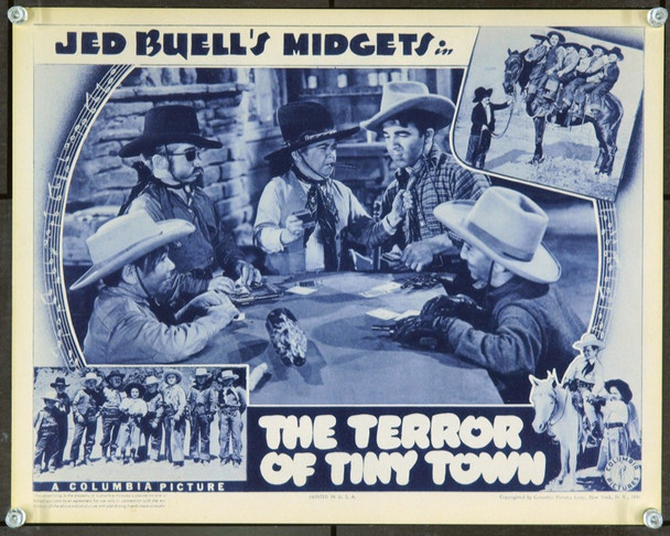 TERROR OF TINY TOWN, THE (1938) 15021 Original Columbia Pictures Scene Lobby Card (11x14). Near Mint.