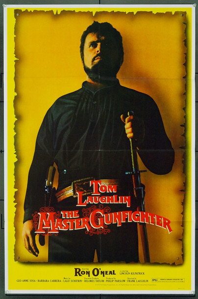 MASTER GUNFIGHTER, THE (1975) 15290 Original Taylor-Laughlin Productions One Sheet Poster (27x41). Very Fine Condition.