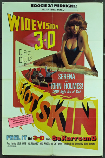 HOT SKIN (1977) 17944 <p>Original Pathfinder Pictures 2003 Re-Release One Sheet Poster (27x41). Folded. Fine plus condition.</p>