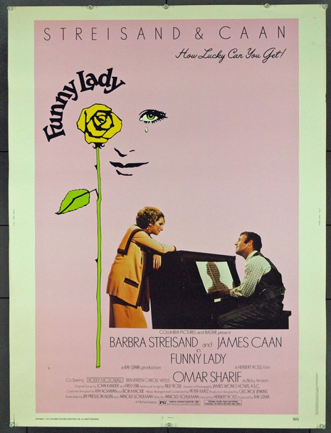 FUNNY LADY (1975) 19084 Original Columbia Pictures 30x40. Unfolded. Very Fine.