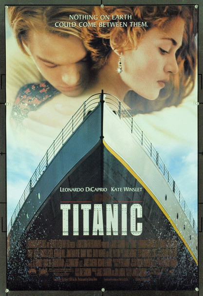 TITANIC (1997) 19559 Original 20th-Century-Fox One Sheet Poster (27x41). Double-Sided.  Very Fine To Near Mint.