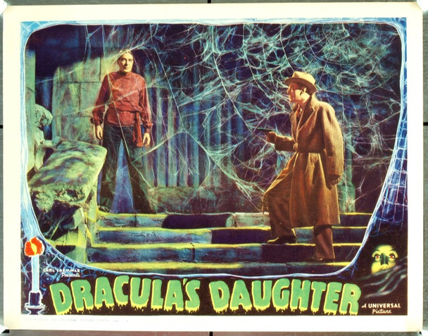 DRACULA'S DAUGHTER (1936) 20028 Original Universal Pictures Scene Lobby Card (11x14). Paper-backed. Very fine condition.