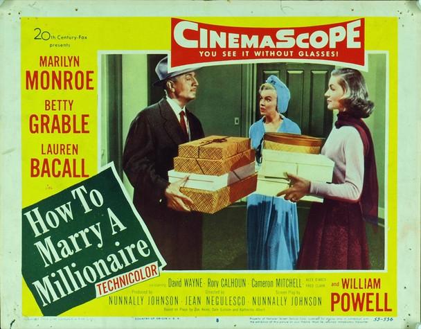 HOW TO MARRY A MILLIONAIRE (1953) 20183 Original 20th Century-Fox Scene Lobby Card (11x14).  Fine Condition.
