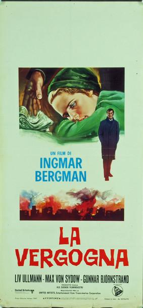 SHAME (1968) 20298 Original Italian Locandina Poster (13x28). Never folded.  Fine condition.