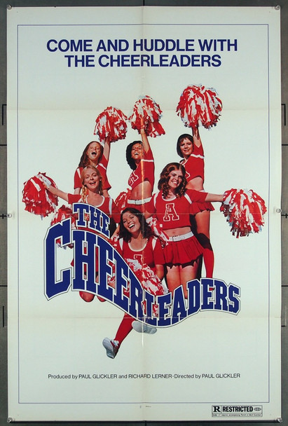CHEERLEADERS, THE (1973) 20536 THE CHEERLEADERS (1973) U.S. One sheet poster.