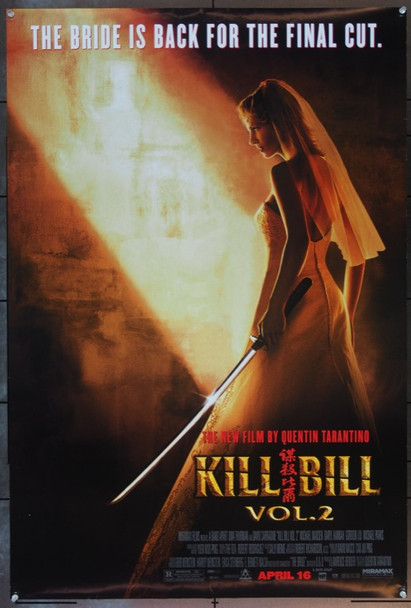 KILL BILL: VOL. 2 (2004) 20645 Original Miramax Films Style B Advance One Sheet Poster (27x41). Unfolded. Very Fine.