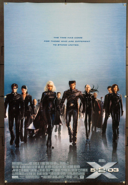 X2 (2003) 20741 Original 20th Century-Fox Style D One Sheet Poster (27x40). Rolled. Very Fine.