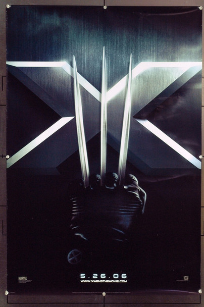 X-MEN: THE LAST STAND (2006) 20742 Original 20th Century-Fox Style C Advance One Sheet Poster (27x40). Double-Sided. Rolled. Very Fine.