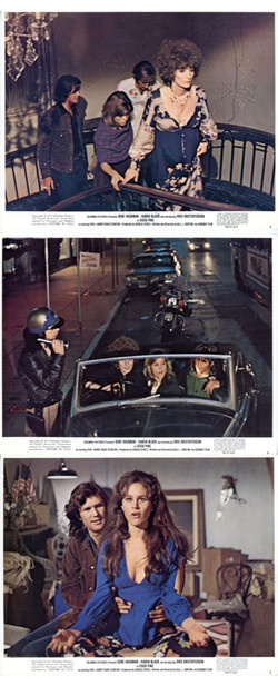 CISCO PIKE (1971) 21287 Three Original Columbia Pictures Lithographed Color Stills (8x10).  Very Fine Plus Condition.