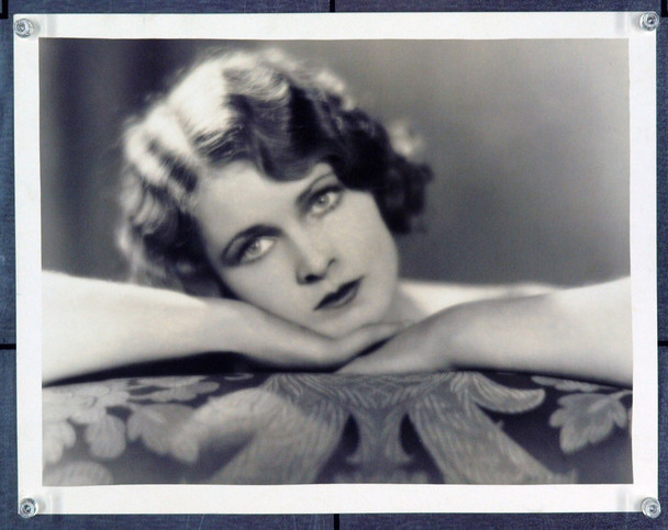 GRETA VON RUE () 21291 Clarence S. Bull Gelatin Silver Print. 11x14. Actress Greta Von Rue. Properly stamped and identified.